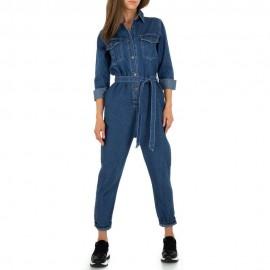 Tuta jeans blu 8-4