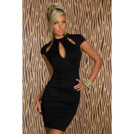 Black Vintage Dress AG21076-2