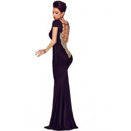 Black Dress AG61120-2