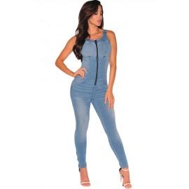 Jumpsuit Blue AG64108-5