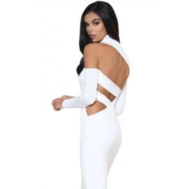 White Dress AG61240-1
