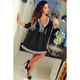 Black Dress AG22826-2