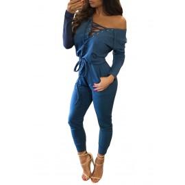 Jumpsuit Blue AG64223-5