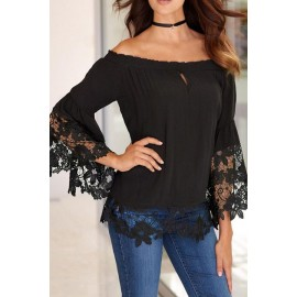 Sexy Black Blouse AG25919-2