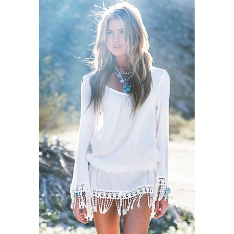 Abitino Mare.....White Beach Mini Dress AG41501
