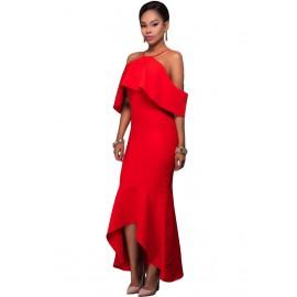 Elegante Abito Rosso AG61456-3