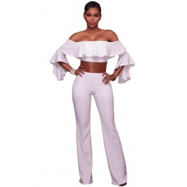 Sexy Jumpsuit White AG64280-1