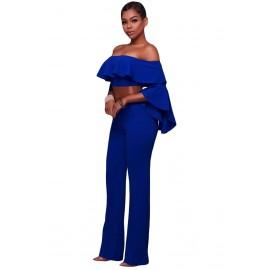 Sexy Jumpsuit Blue AG64280-5