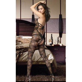 Sexy flower lace sexy bodystocking AG7978