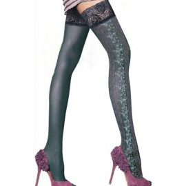 Autoreggenti..New Chic Lace Top Thigh High Transparent Stockings AG79315